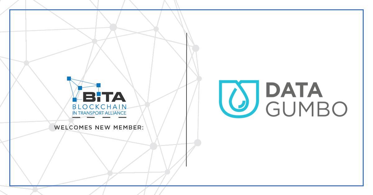 Data Gumbo joins the Blockchain in Transport Alliance to promote blockchain adoption
