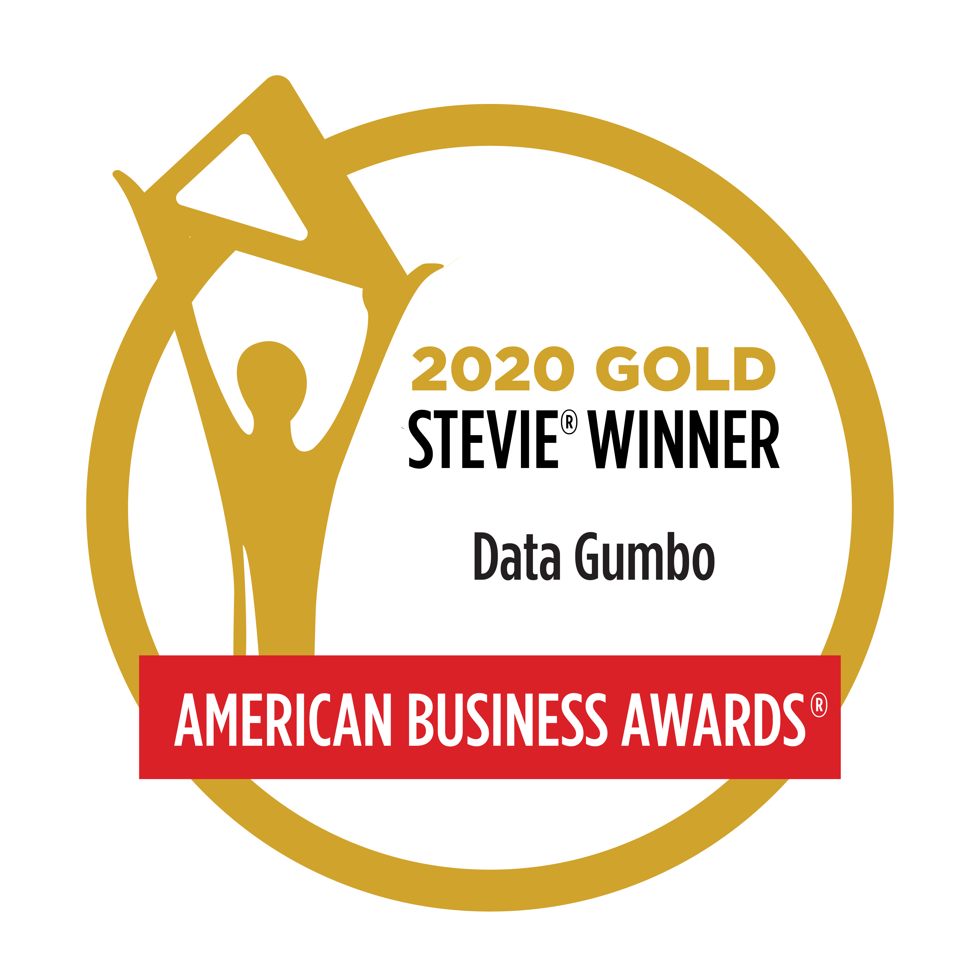 2020 Gold Stevie Winner - Data Gumbo